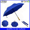 Изготовленный на заказ Windproof двойные слои перевернули обратный вверх ногами зонтик
