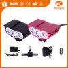 Indicatore luminoso accessorio della bici del silicone di Solarstorm della bicicletta ricaricabile ultra luminosa di Alumimium T6 LED