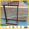 Vena di legno bianca/Onxy giallo per il pavimento & la parete