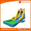 Diapositiva de agua de la diapositiva del volcán y del fuego con la piscina (T11-104)