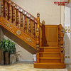 Лестницы твердого дуба пользы виллы деревянные с поручнем (GSP16-001)