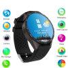2016匹のアンドロイドのBluetooth円形スクリーンGPSのスマートな腕時計の個人的な追跡者