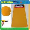Rivestimento ibrido della polvere di colori di Ral di sabbia del grano di struttura dello spruzzo della polvere della vernice del poliestere giallo dell'epossidico