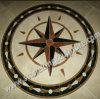 돌 모자이크, 대리석 모자이크 큰 메달 (SK-3355)