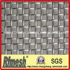 Treillis métallique serti par replis aggloméré par cuivre hollandais décoratif carré serti par replis