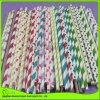 Pajas de beber coloridas del papel rayado de la alta calidad para el partido