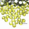 Zitronengelbe Farberhinestone-Kristallnagel-Kunst-Acrylaufkleber-Diamant-Edelstein-Steine