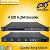 Sd-IP-Kodierer 4 in 1 für Simulcast IPTV (HT101-15)