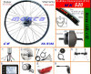 DIY Your Bike a Electric Bike con The Conversion Kits Choose The Battery Which You Like (MK520)