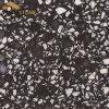 Bancada artificial misturada de quartzo da pedra FL-5820 de quartzo do preto da cor