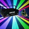 Editable лазерный луч одушевленност полного цвета Ilda 2W RGB карточки SD для освещения клуба/освещения этапа Lighting/DJ