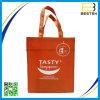 Bolso no tejido modificado para requisitos particulares promocional de las compras de la insignia para el supermercado