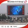 Affichage à LED Extérieur de l'IMMERSION P8 polychrome de Dvertising/étape