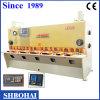 Máquina de corte mecânica, máquina de corte hidráulica (QC12Y 8 x 3200)