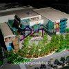Создатель масштабной модели выставки торгового центра архитектурноакустический (BM-0252)