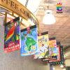 Kundenspezifische hängende Fahnen-Vinylfahne Frbric Fahne (XS-HB11)