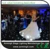 Белая/черная Twinkling танцевальная площадка украшения СИД венчания
