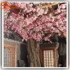 Árvore artificial plástica da flor de cereja da decoração interna por atacado