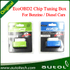 15% 연료 Save Ecoobd2 Chip Tuning Box Eco OBD2 Benzine Petrol Gasoline 및 Diesel Cars Plug & Drive Device Obdii Diagnostic Tool Retail Box