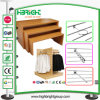 MDF Wooden Display Rack Stands für Slat Hooks