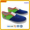 Chaussures vulcanisées par hommes de chaussures de toile (RW50749A)