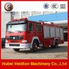HOWO 266HP 2, 000 van het Schuim Liter van de Vrachtwagen van de Brand