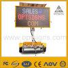 Remorque mobile actionnée solaire de VMs de signe de route de circulation d'OEM DEL