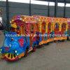 Поезд езды Kiddie миниый Trackless для игр парка атракционов детей