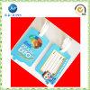 Сделайте PVC милую бирку багажа логоса с пластичной вешалкой (JP-LT034)