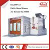 Equipo profesional de la cabina de la pintura a pistola del coche del fabricante de China con precio competitivo