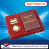 小冊子およびギフト用の箱(lzy001623)が付いているカスタム軍の星メダル