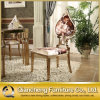 Het Dineren van het Roestvrij staal van de Vorm van de perzik Stoel voor het Kussen van de Stof