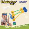 Brinquedo da instrução para blocos de apartamentos plásticos prées-escolar dos miúdos