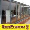 Множественная алюминиевая Bi-Складывая дверь для балкона
