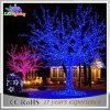 Luzes ao ar livre da filial do diodo emissor de luz da árvore de Natal do metal da decoração da rua