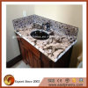 Crema Polished Delicatus Granite Vanity Top per Bathroom