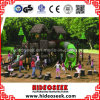 ASTM Standard Natural Wood Style de couleur Outdoor Children Playground Equipment