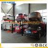 Elevación doble del estacionamiento de la cubierta, elevación del estacionamiento del coche de dos coches