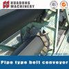 Materialtransport-Kurven-Bandförderer-Rohr-Förderanlage