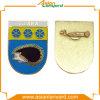 Form-Metallabzeichen mit weichem Decklack