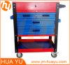 Beweglicher Werkzeugkasten (Gas-Sprung Haube, quadratische Tellersegmente, kleines Fach)