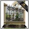 Загородка граници сада Coated литейного металла порошка украшения сада виллы алюминиевая