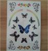 Tattoo искусствоа стикера Tattoo модной бабочки водоустойчивый временно