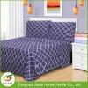 A folha de base bonita ajusta o Bedsheet de matéria têxtil da HOME do preço de grosso