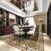 Les tuiles Waterjet de Hall de décoration de médaillon populaire de marbre