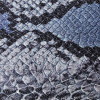 Het Leer van het Patroon Pu van de slang voor Handtassen (k138)