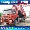 판매를 위한 HOWO 쓰레기꾼의 사용된 Sinotruck HOWO 팁 주는 사람 트럭