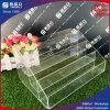 Hoher transparenter Acrylnagellack-Organisator-Acryl-Nagel