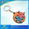 Preiswerter kundenspezifischer Andenken-Geschenk-Plastik-Belüftung-Schlüsselketten-Halter mit irgendeinem Firmenzeichen (XF-KC-P25)