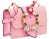 شارع [فشيون دسنر] نساء كتف حقيبة يد مع نوع ذهب سلسلة ([بدإكس-171015])